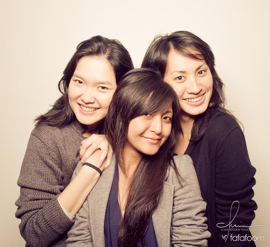 Three Girls, One Camera
