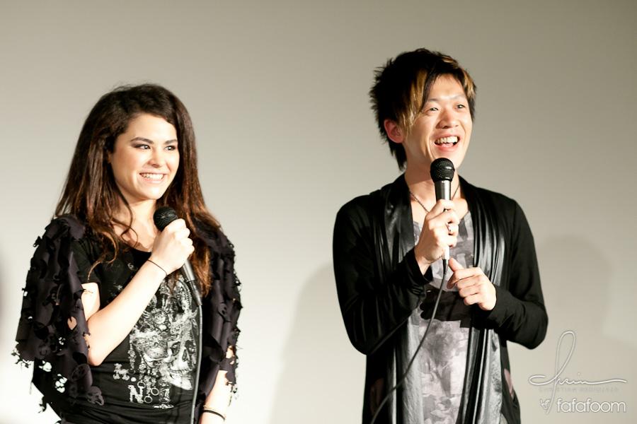 Naoto Hirooka (h. Naoto) and Mai