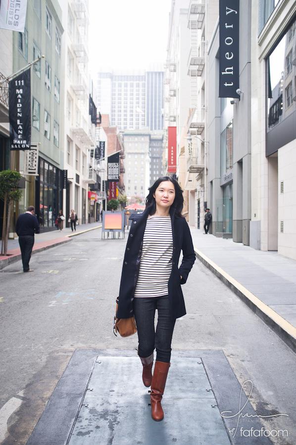 Musank Strolling Down San Francisco