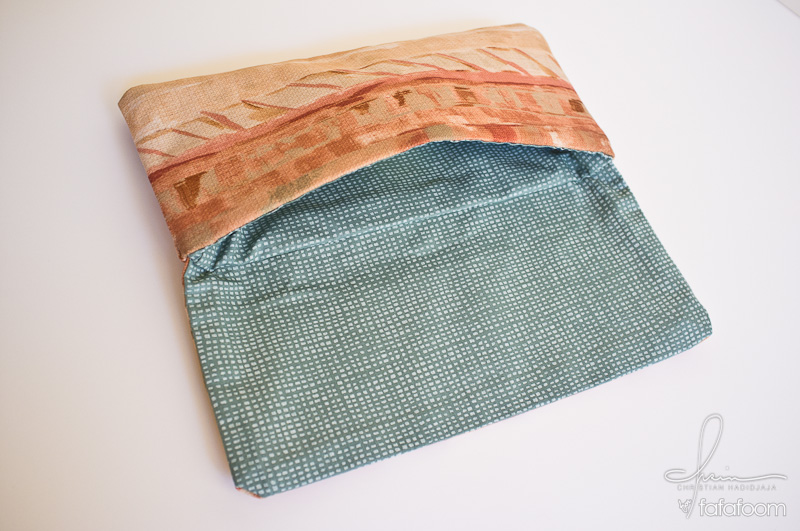 DIY Project Convertible Fabric Clutch
