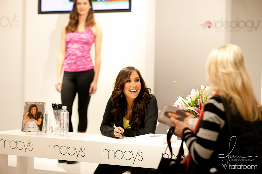 Cheryl Burke's activewear Ideology launched at Macy's San Francisco