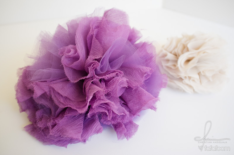 DIY Project Tulle Puff Hair Accessory (and more)