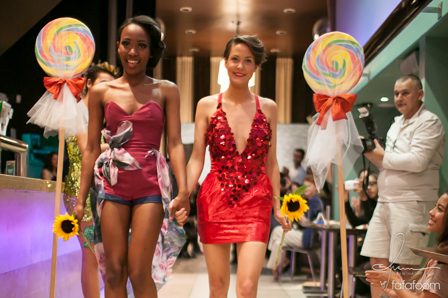 When the Muse Becomes the Student: Shai White and Danielle Pettee Summer 2012 Collection