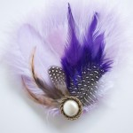 Feather Accessories 3 150x150 DIY Project: Feather Hair Accessories