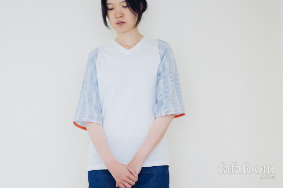 Koko Yamase DIY Project: Making 2 Tops from a Men's Dress Shirt