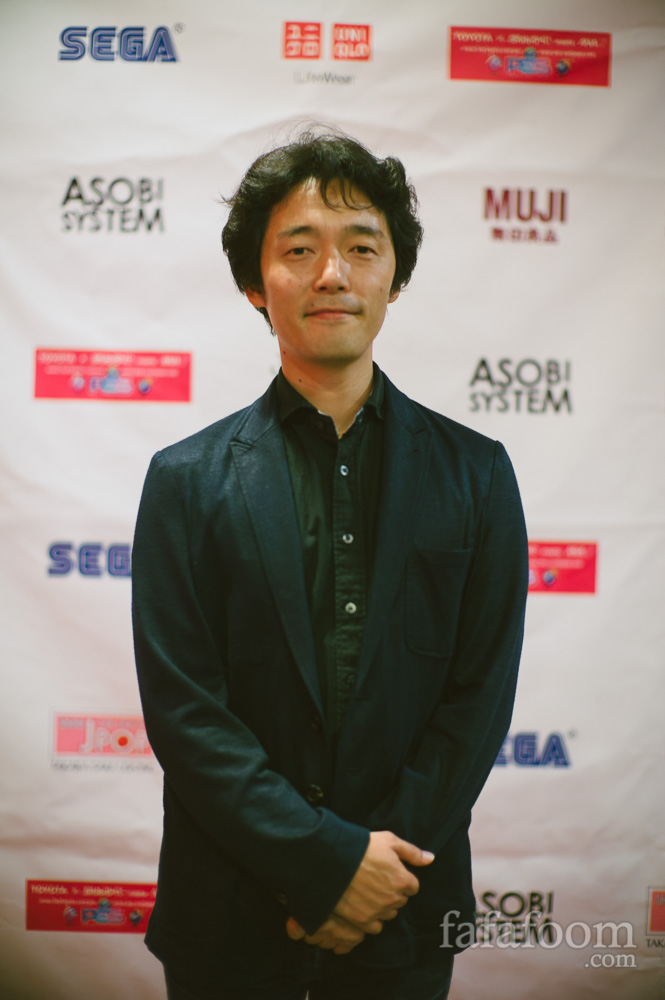 Shinsuke Sato at Library Wars Screening at NEW PEOPLE, SF