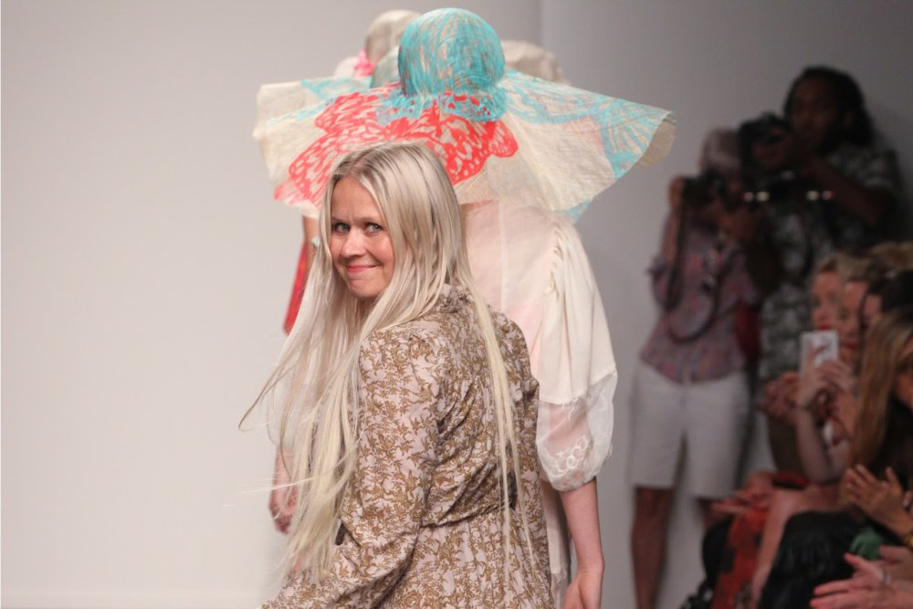 Ivana Helsinki Spring/Summer 2014 Runway at New York Fashion Week