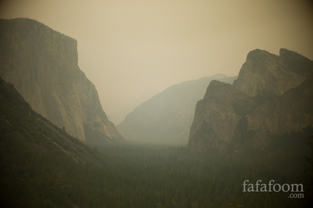Yosemite Labor Day Weekend 2013: Smoky and Gorgeous