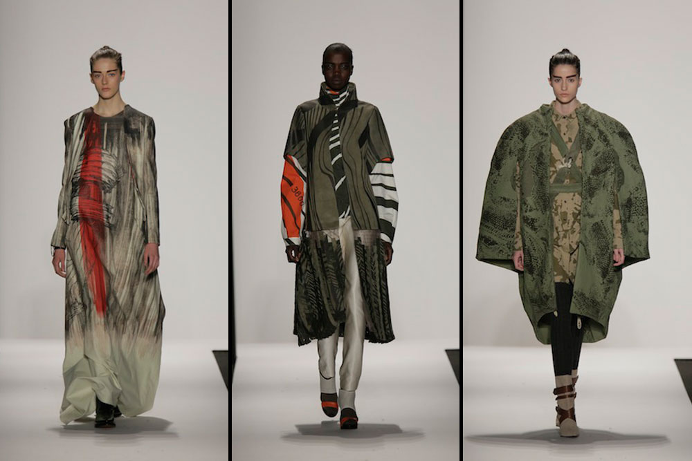 Polished and Bold: Fall 2014 Looks from AAU Students at MBFW