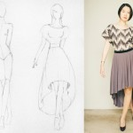 High-Low Circle Skirt Dress Sewing Project