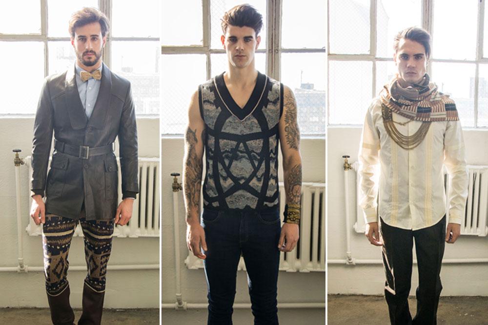 Sergio Davila Fall/Winter 2014 at NYFW