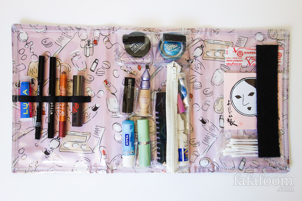 DIY Makeup Case: Staying Organized On the Go