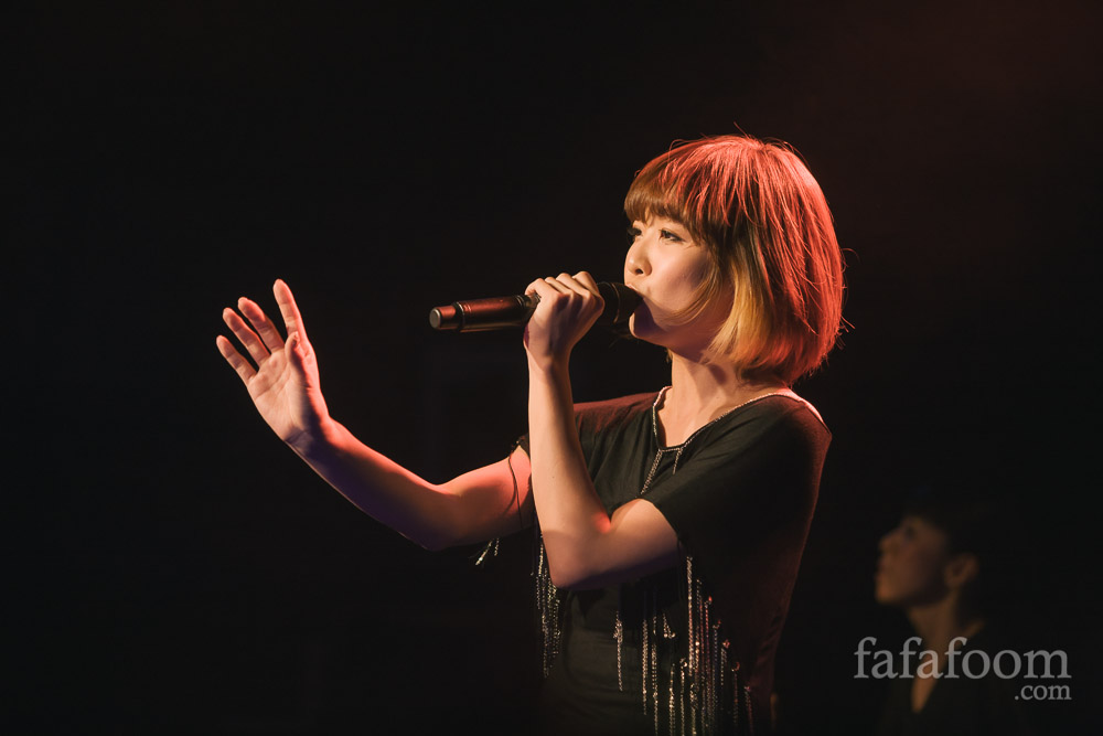 May'n Interview + Dots and Lines Concert Photos at Slim's San Francisco