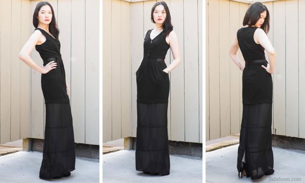 DIY Dress Extension: a Fix for a Too-Short LBD