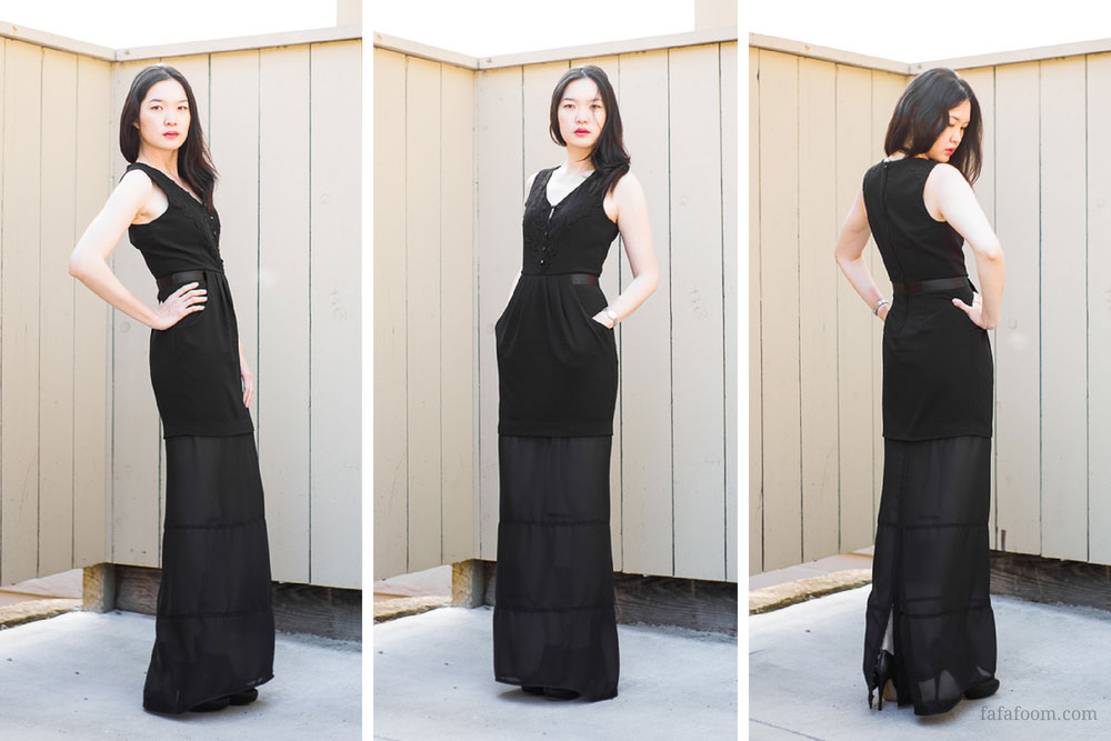 DIY Dress Extension: a Fix for a Too-Short LBD