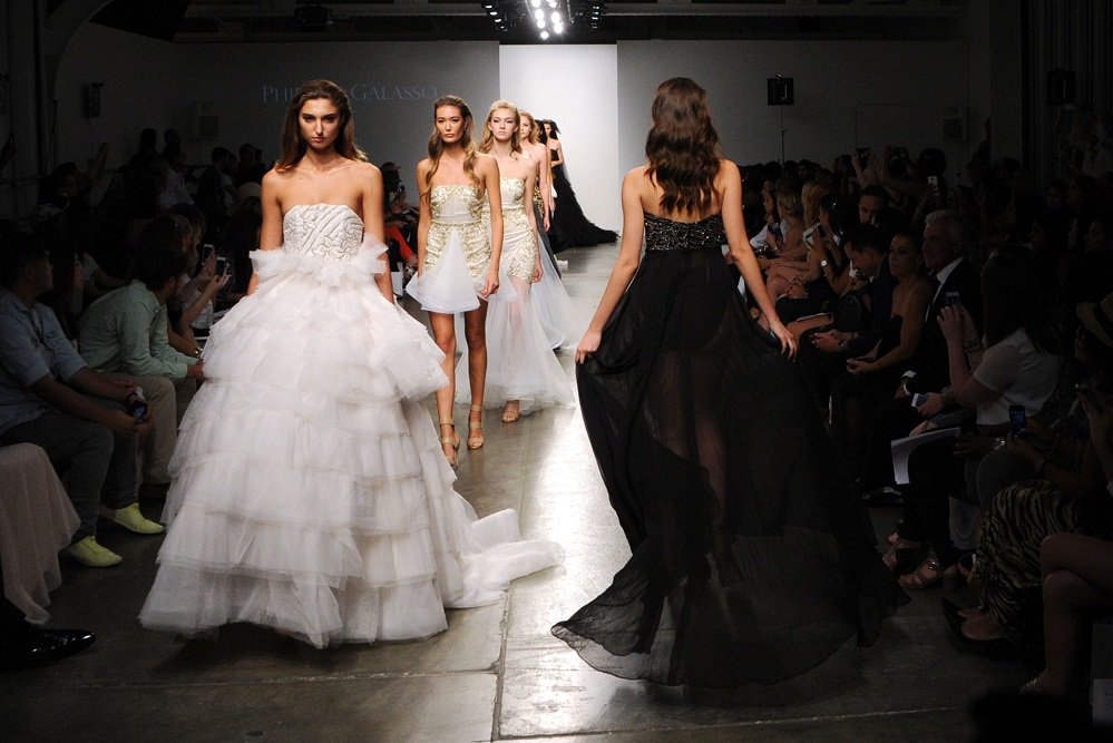 Fashion Palette S/S15 Evening/Bridal at NYFW: Ultra Feminine, Seductive, Glamorous