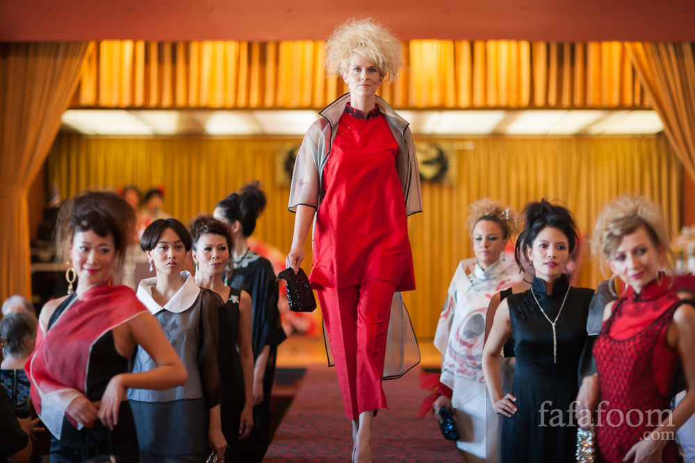 "Monique Zhang's ""a la Shangrila"" Fashion Show: Beauty Knows No Age"