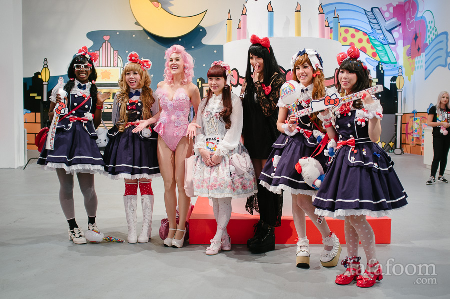 Fans at Hello Kitty Con: You Can Never Have Too Much Style!
