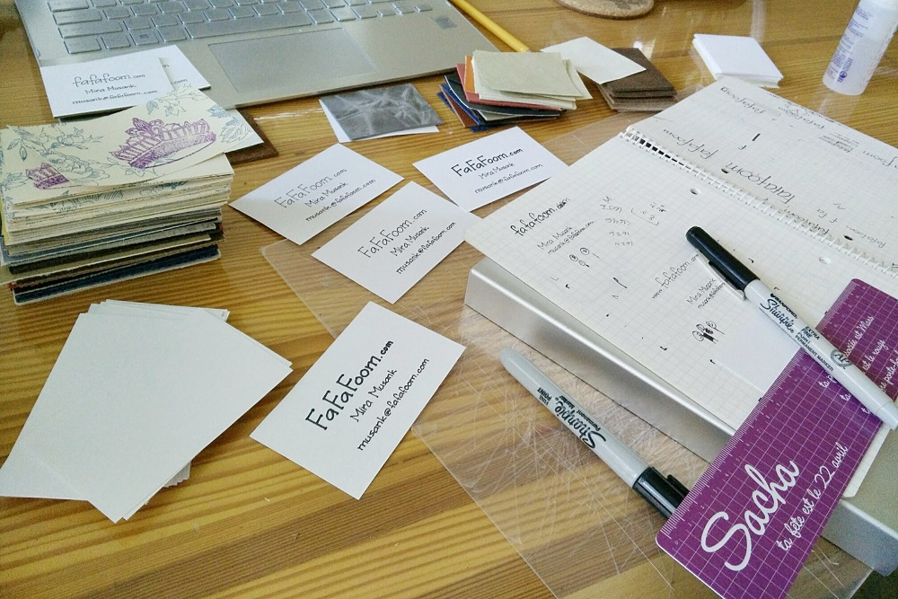 DIY Business Cards: Making Great First Impression with Personalized, Handmade Creations