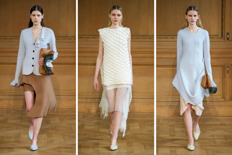 Allude Fall/Winter 2015: Playing Shapes