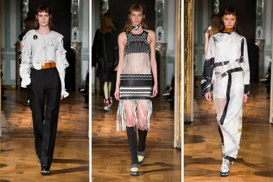 Anne Sofie Madsen Fall/Winter 2015: Days of Future Past