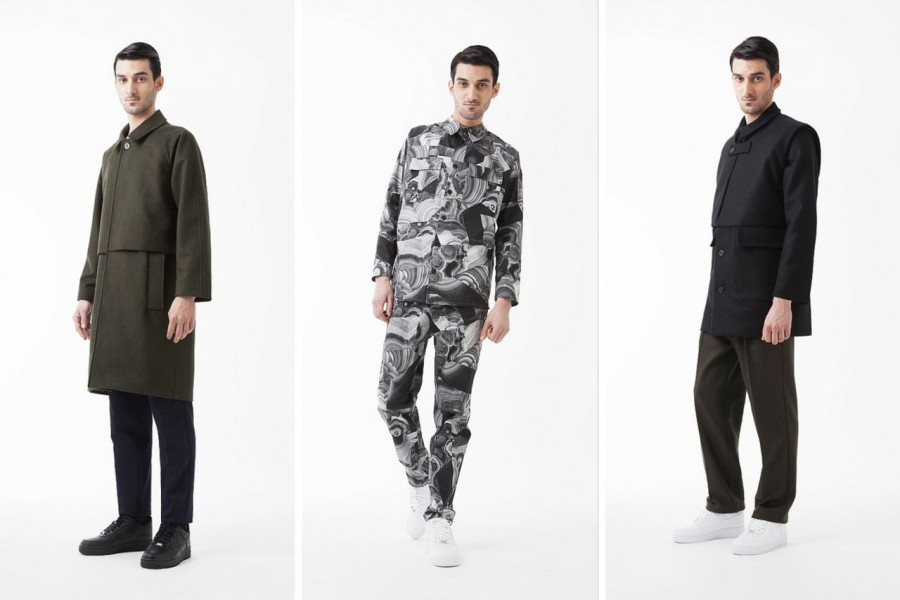 Avoc Menswear Fall/Winter 2015 Lookbook