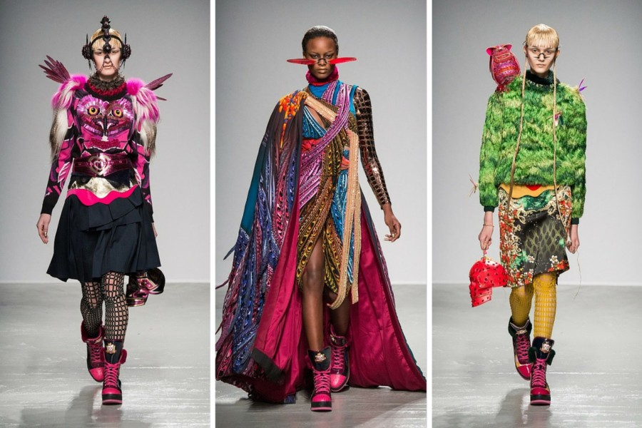 Manish Arora Fall/Winter 2015: Unleashing Fantasy Warriors