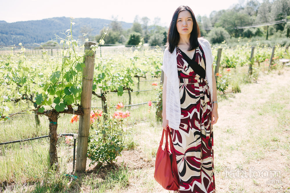 Maxi Dress for Summer Weekend in Wine Country