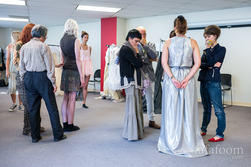 AiCA San Francisco Model Fitting: Counting Down for Talk Style Fashion Show