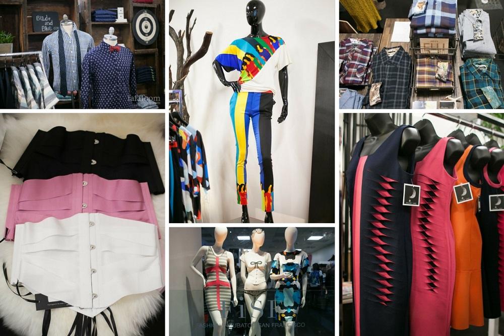 Fashion Incubator San Francisco Pop-Up Store in Westfield SF