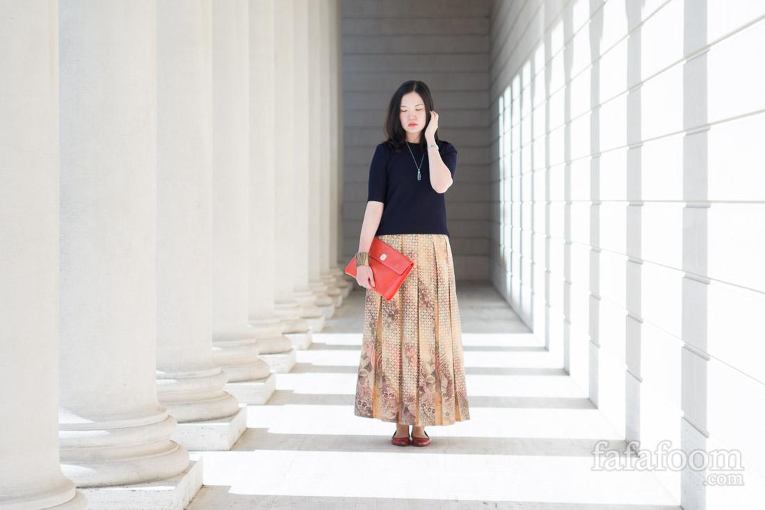 My Personal It Bag: Orange Longchamp Clutch
