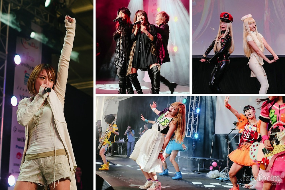 J-Pop Summit 2015 Live Concert - Music and Fashion