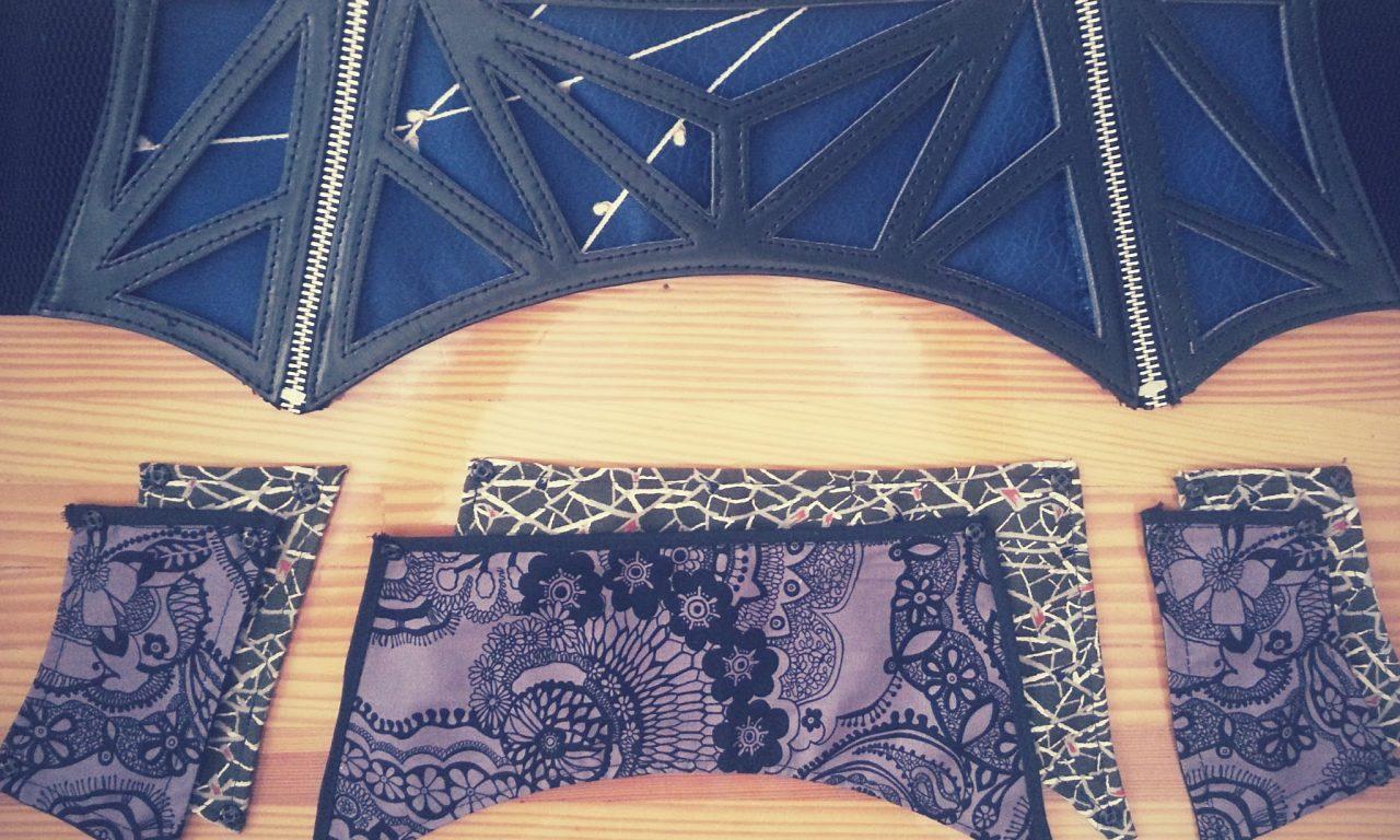 Refashioned Waist Corset Belt
