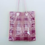 DIY Handwoven Tote with Clear Vinyl Cover