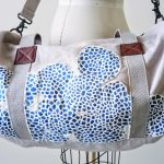 Duffel Bag Personalization with Fabric Appliqués