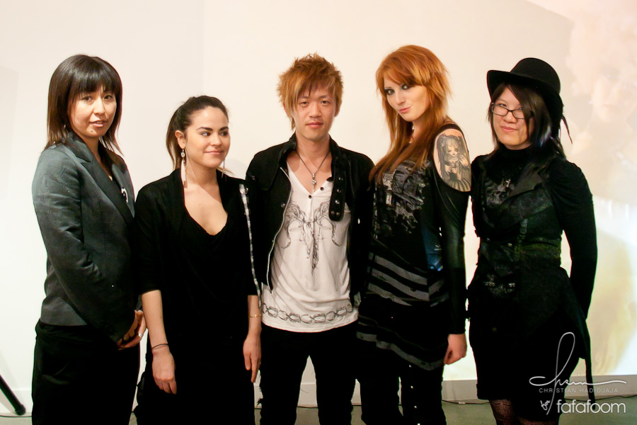 h. Naoto and his  New People Store Staff